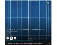 Bright solar future: Energy and drinking water in one device